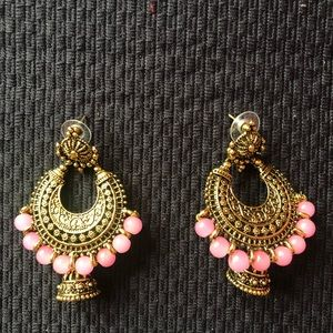 Pink Indian jewelry